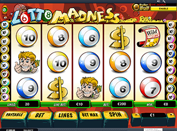 онлайн аппарат Lotto Madness 3