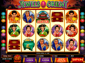 онлайн аппарат Jewels Of The Orient 3