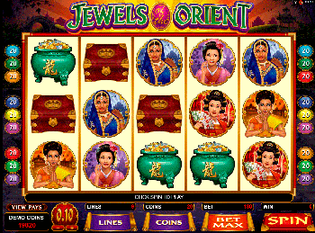 онлайн аппарат Jewels Of The Orient 4