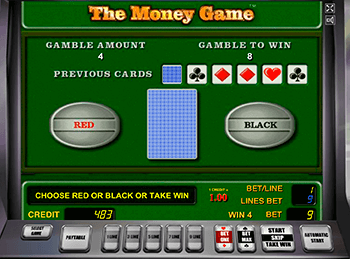 онлайн аппарат The Money Game 1